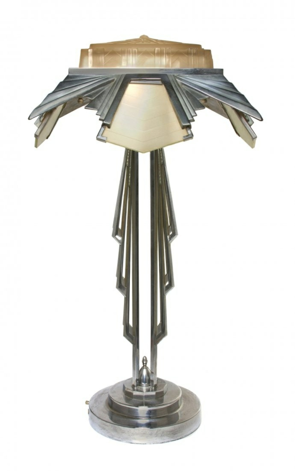Art Deco möbel stehlampe design ideen