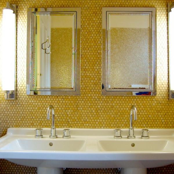 badgestaltung mit tapete ~ raum haus mit interessanten ideen - Badgestaltung Mit Tapete
