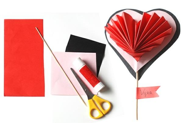 Basteln zum Valentinstag anleitung