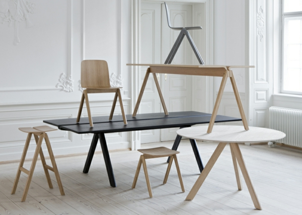 Bouroullec holz stühle tische designs