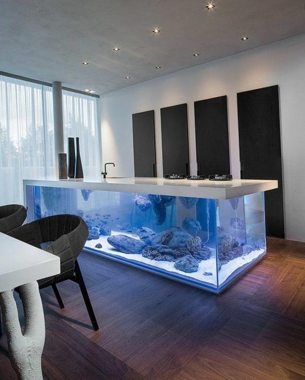 Brillante Aquarium Dekoration kochinsel