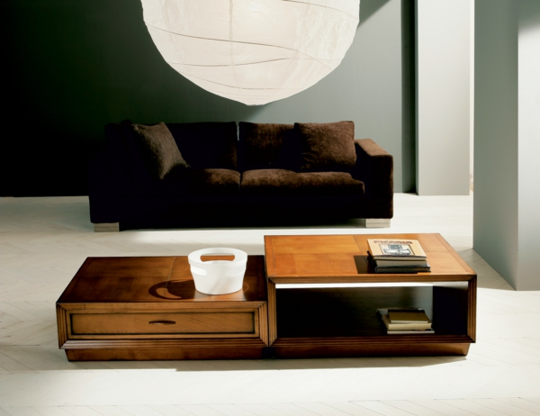 wohnzimmertische aus holz raum und m beldesign inspiration. Black Bedroom Furniture Sets. Home Design Ideas