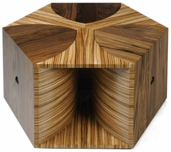 Couchtisch Holz designer wohnzimmertisch teile