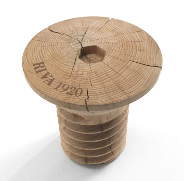 Couchtisch aus Holz designer wohnzimmertisch werkzeug