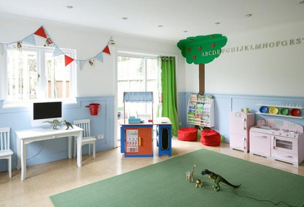 Deko-Kinderzimmer-Deko-Ideen-grün