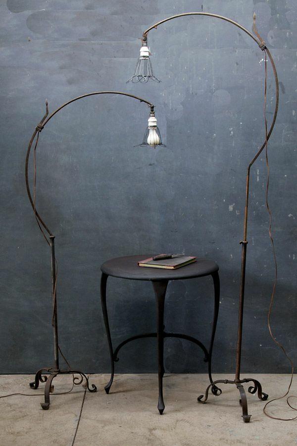 Designer ideen gebogen Stehlampen Leuchtenwelt