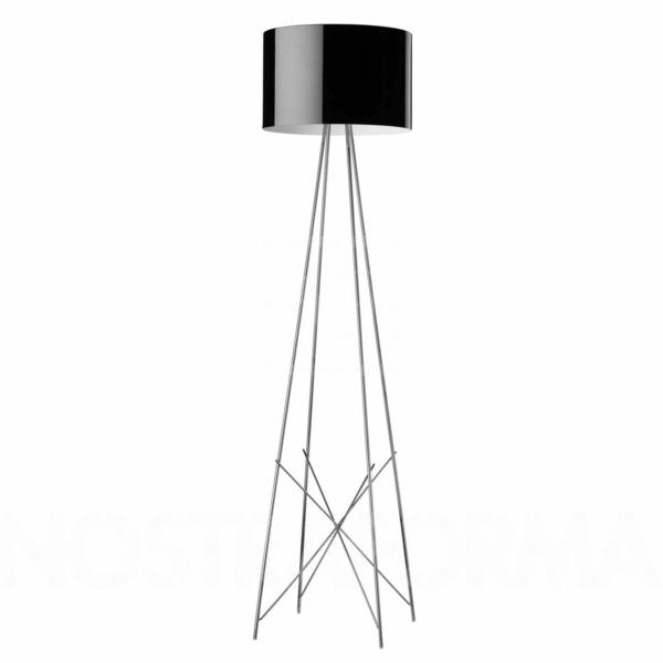 Designer Leuchtenwelt Stehlampen schwarz lampenschirm