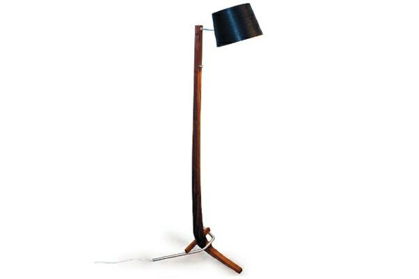 Designer Stehlampen  Leuchtenwelt schwarz