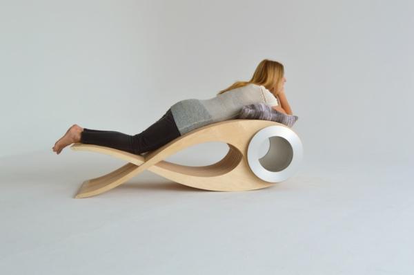 EXOCET designer stuhl Stéphane Leathead designarium mehrfunktional