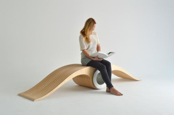 EXOCET designer stuhl lounge möbel Stéphane Leathead