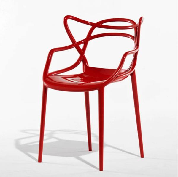 Etwas Interessantes philippe starck design möbel rot