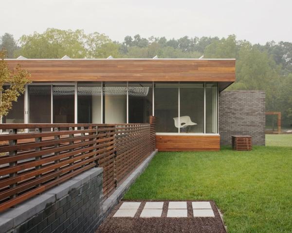 Holzpaletten ideen basteln Gartenzäune