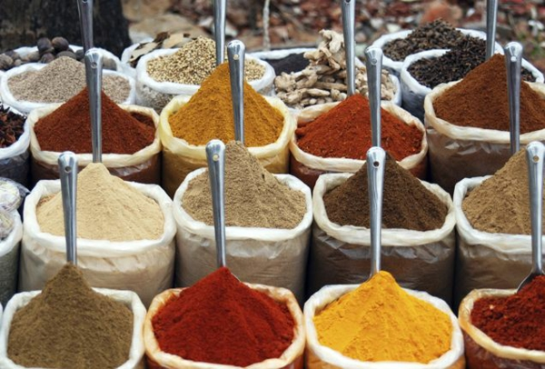 Indisch kochen indische gewürze markt