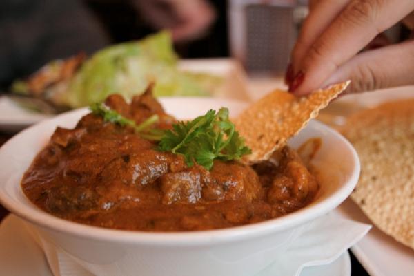 Indisch kochen indisches Essen rogan josh lamm curry