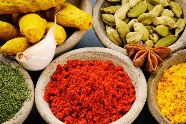 Indisch kochen traditionelle indische gewürze kardamom