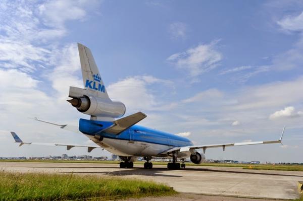 KLM übernachten design stil Flugzeug