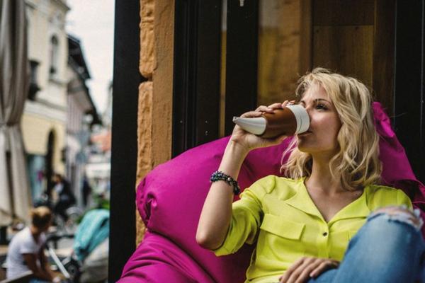 Kaffee becher lustige kaffeetassen espresso leder