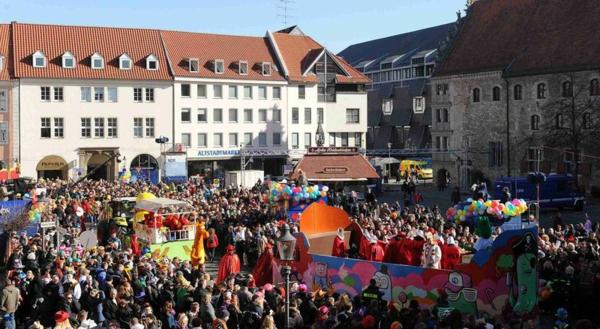 Karneval Braunschweig fasching karnevalsumzug platz