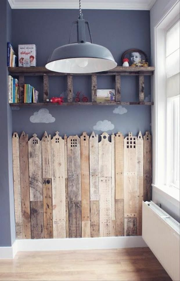 Kinderzimmer platten Deko selber machen dekoartikel holz