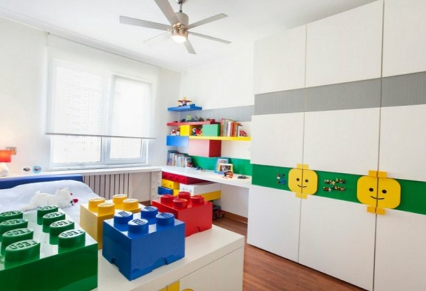 kinderzimmer im lego stil einrichten. Black Bedroom Furniture Sets. Home Design Ideas