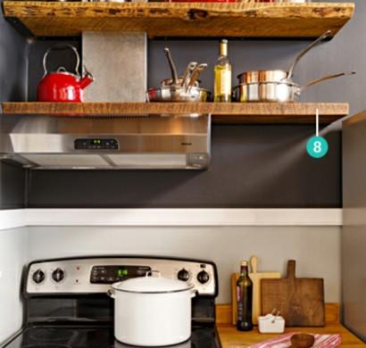 best kleine regale f r k che pictures house design ideas. Black Bedroom Furniture Sets. Home Design Ideas