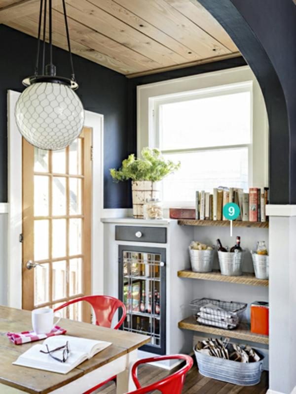 Kleine Küche Einrichten Zimmerdecke