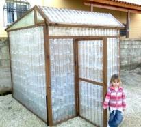Gewächshaus Selber Bauen kleines gewächshaus selber bauen mini treibhaus aus plastikflaschen