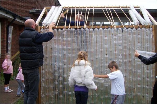 Kleines Gewächshaus selber bauen kinder
