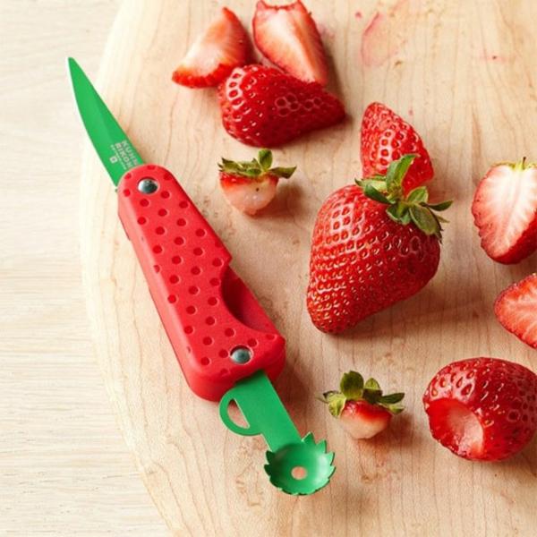 Küchenhelfer und Küchengeräte erdbeere