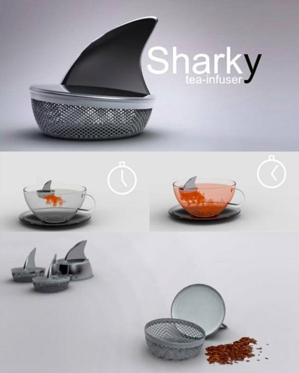 teeei Küchenhelfer und Küchengeräte haifisch