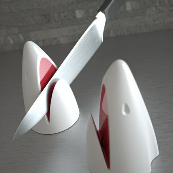 designs Küchenhelfer und Küchengeräte messer hai
