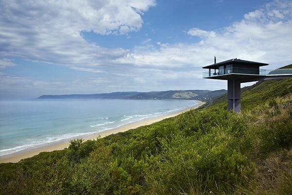designer Haus ozean australien küste natur