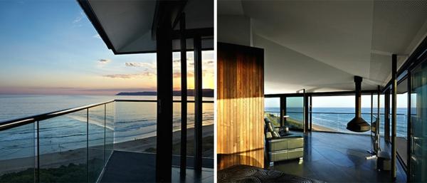 elegant Haus australien terrasse