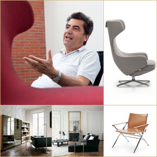 Möbel italienischer Stil  Designer Antonio Citterio