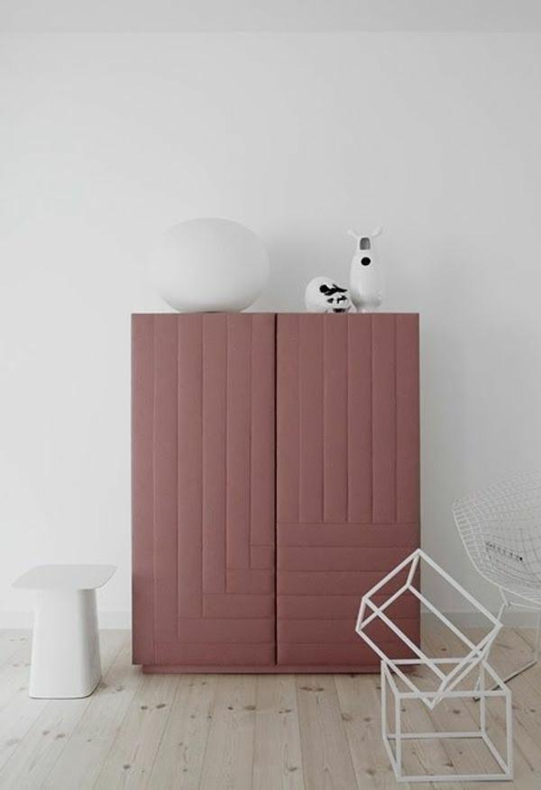 Möbel lackieren - Marsala Trendfarbe 2015