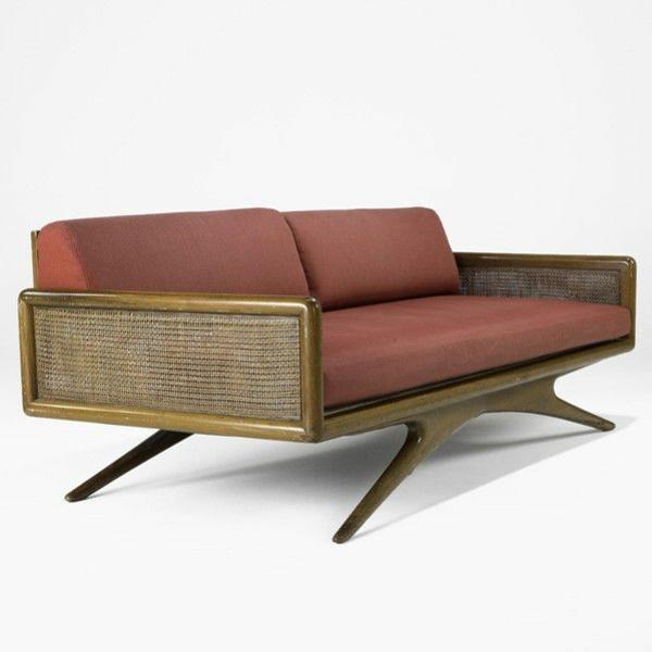 M?bel lackieren Marsala Trendfarbe 2015 sofa