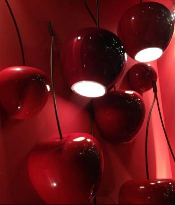 Möbel Marsala Trendfarbe 2015 wandlampen