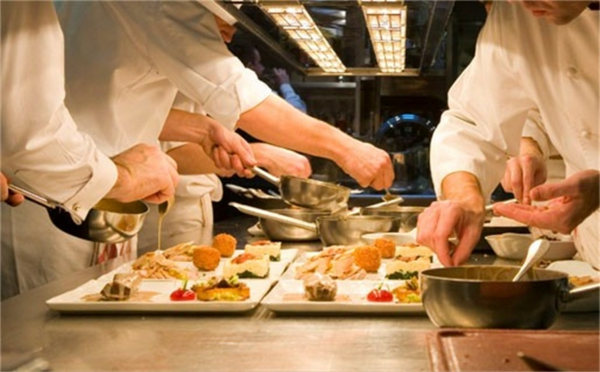 Michelin Star Restaurants in der küche
