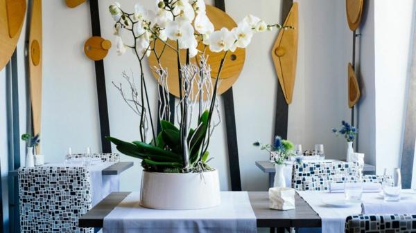 Michelin Star Restaurants luxus innendesign blumendeko