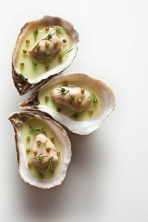 Michelin Star Restaurants weltweit muscheln erstklassiges essen