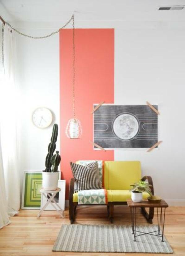 Moderne Farben für Wohnzimmer 2015 erfrischen Ihre ...