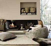 Moderne Farben Für Wohnzimmer 2015 Erfrischen Ihre Wohnatmosphäre Farbe Fur Kamin