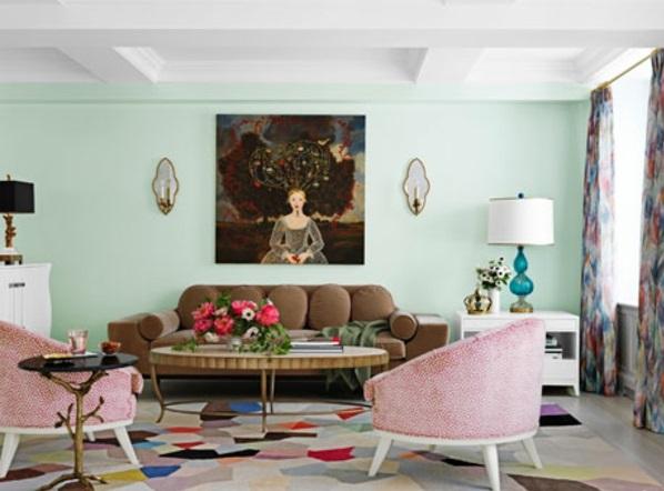 design : wohnzimmer schwarz weiß orange ~ inspirierende bilder von ... - Wohnzimmer Schwarz Pink