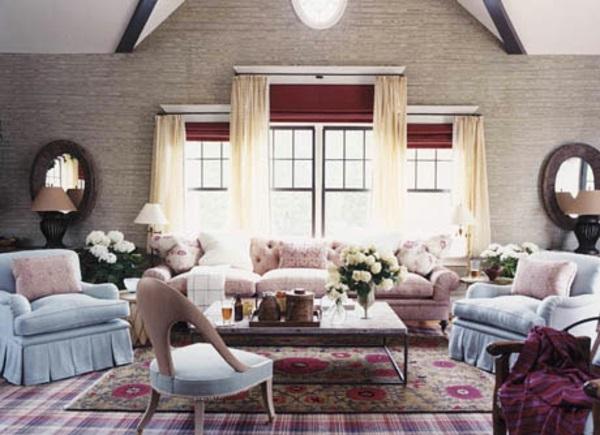 Moderne farbgestaltung wohnzimmer  Moderne Farben für Wohnzimmer 2015 erfrischen Ihre Wohnatmosphäre