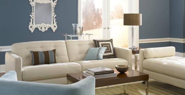 Moderne farbgestaltung wohnzimmer  haus renovierung mit modernem faszinierend farbgestaltung ...