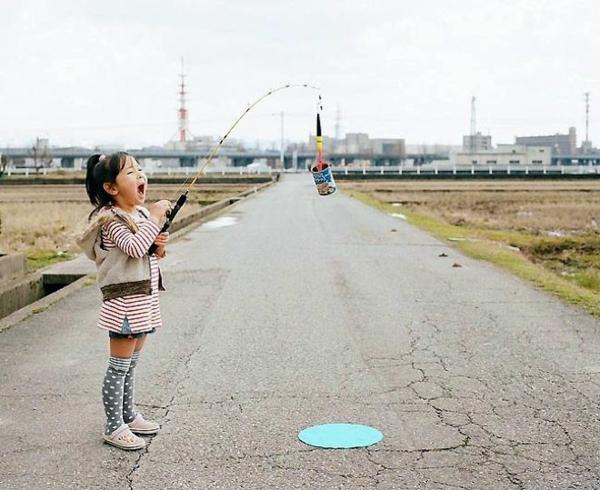 Nagano Toyokazu tochter kinderfotos angeln