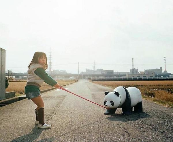 Nagano Toyokazu tochter kinderfotos panda
