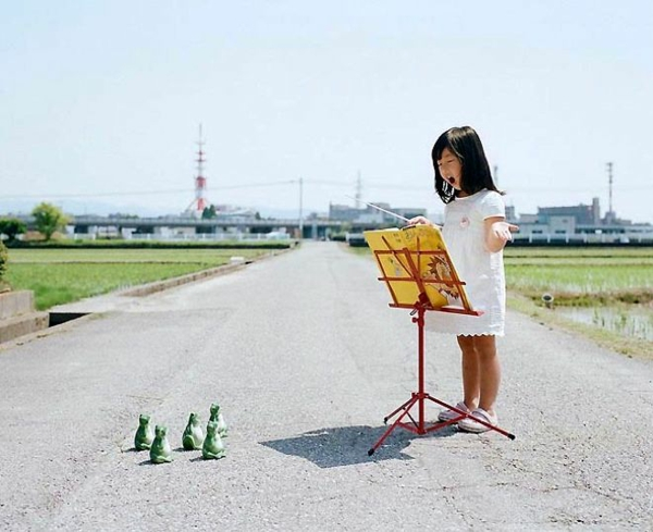 Nagano Toyokazu tochter lustige kinderbilder dirigent