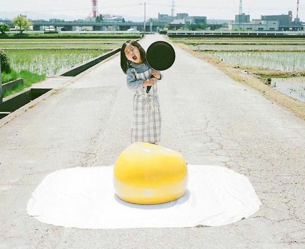 Nagano Toyokazu tochter lustige kinderbilder eier kochen