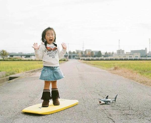 Nagano Toyokazu tochter lustige kinderbilder erschrocken